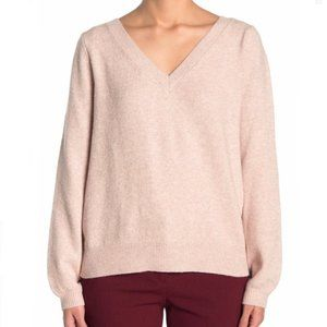 14TH & UNION Two Way Cozy Pullover Sweater 3X Pink